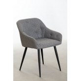 Fabric Dining Chair Zilen , thumbnail image 1