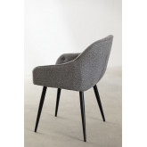 Fabric Dining Chair Zilen , thumbnail image 3