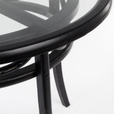 Round Dining Table in Wood (Ø100 cm) Thon, thumbnail image 3