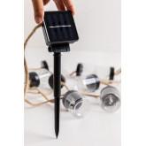 LED wreath with Solar Charger (2 M) Quartz , thumbnail image 4