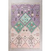 Jute and Fabric Rug (275x170 cm) Nuada, thumbnail image 1
