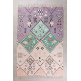 Jute and Fabric Rug (274x172 cm) Nuada, thumbnail image 1