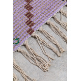 Jute and Fabric Rug (274x172 cm) Nuada, thumbnail image 4