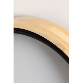LED Ceiling Light Balto in Wood and Steel , thumbnail image 4