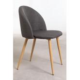 Linen Dining Chair Kana, thumbnail image 6