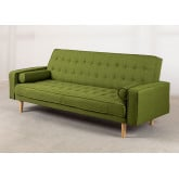 3 Seater Linen Sofa Bed Brion , thumbnail image 3