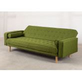 3 Seater Linen Sofa Bed Brion , thumbnail image 4