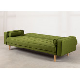 3 Seater Linen Sofa Bed Brion , thumbnail image 5