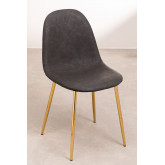 PACK of 2 Glamm Leatherette Chairs, thumbnail image 1