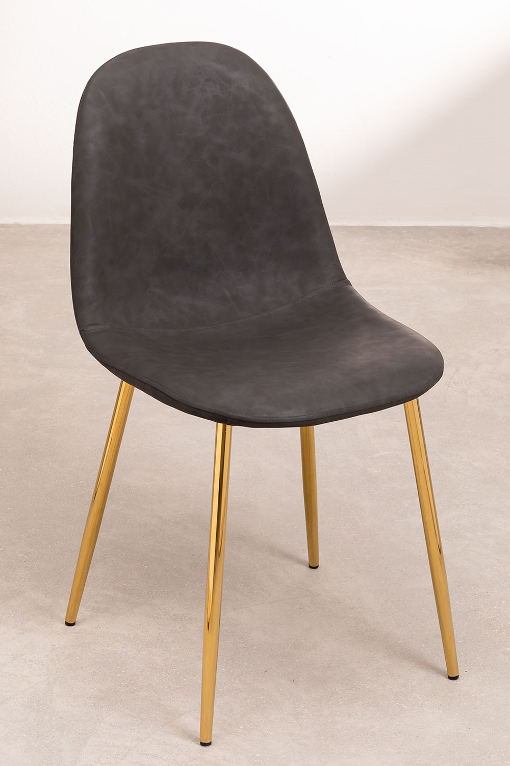 PACK of 2 Glamm Leatherette Chairs, gallery image 1