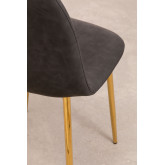 PACK of 2 Glamm Leatherette Chairs, thumbnail image 3