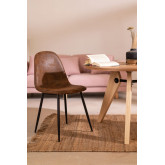 PACK of 4 Glamm Leatherette Chairs, thumbnail image 5