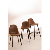 PACK of 4 Glamm Leatherette Chairs, thumbnail image 6