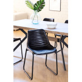 Zekal Leather Dining Chair, thumbnail image 1