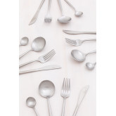 Matte Metallic Cutlery 16 pieces Noya , thumbnail image 1