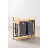 Bamboo Laundry Basket Joesh , thumbnail image 3