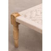 Macrame -Wooden Coffee Table Kiron , thumbnail image 4