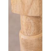Macrame -Wooden Coffee Table Kiron , thumbnail image 6