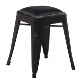 LIX Vintage Low Steel Stool, thumbnail image 3