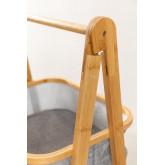 Yvet Bamboo Shelf with 2 Baskets, thumbnail image 4