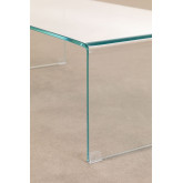 Transparent Glass Coffee Table (110x55 cm) Crhis, thumbnail image 6