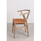 Uish Leatherette Dining Chair, thumbnail image 2