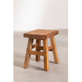 Low Stool in Recycled Wood Roblie, thumbnail image 1
