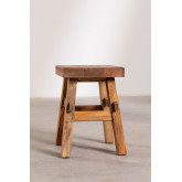 Low Stool in Recycled Wood Roblie, thumbnail image 2