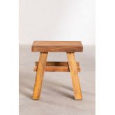 Low Stool in Recycled Wood Roblie, thumbnail image 3