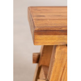 Low Stool in Recycled Wood Roblie, thumbnail image 4