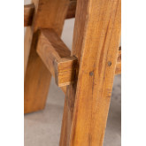 Low Stool in Recycled Wood Roblie, thumbnail image 5