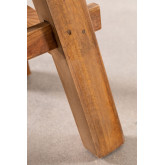 Low Stool in Recycled Wood Roblie, thumbnail image 6