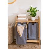 Bamboo Laundry Basket Joesh , thumbnail image 2