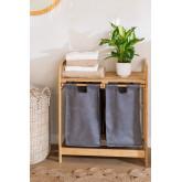 Bamboo Laundry Basket Joesh , thumbnail image 1