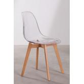 Transparent Nordic Brich Scand Chair, thumbnail image 2