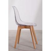 Transparent Nordic Brich Scand Chair, thumbnail image 3