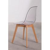 Transparent Nordic Brich Scand Chair, thumbnail image 4