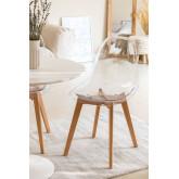 Transparent Nordic Brich Scand Chair, thumbnail image 1