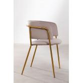 Nalon Style Velvet Dining Chair , thumbnail image 3