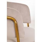 Nalon Style Velvet Dining Chair , thumbnail image 6