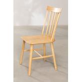 Shor Natural Dining Chair, thumbnail image 3