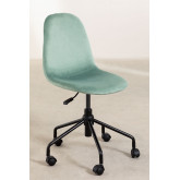 Glamm Velvet Office Chair, thumbnail image 2