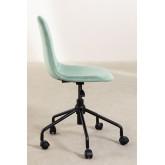 Glamm Velvet Office Chair, thumbnail image 3