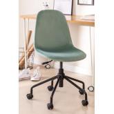 Glamm Velvet Office Chair, thumbnail image 1