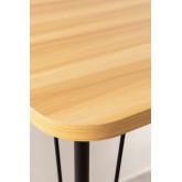 Steel & Melamine Desk on Caster  Nâpe, thumbnail image 4