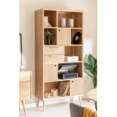 MDF bookcase Berkem, thumbnail image 1
