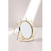 Table Mirror in Metal Lubin, thumbnail image 2
