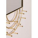 Wall-Mounted Jewelry Mirror in Metal Loan, thumbnail image 4