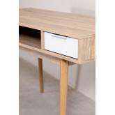 Fir & Pine Wooden Desk Baldri , thumbnail image 6