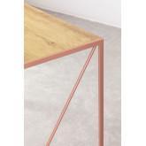 Foldable Metal & MDF  Desk Andra, thumbnail image 5